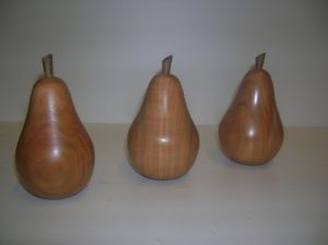 Wooden Pears